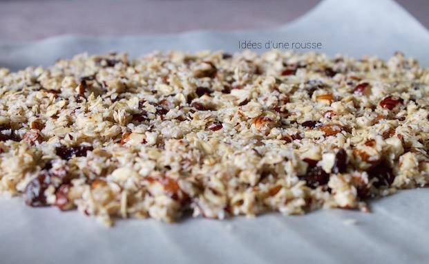 Recette healthy granola maison