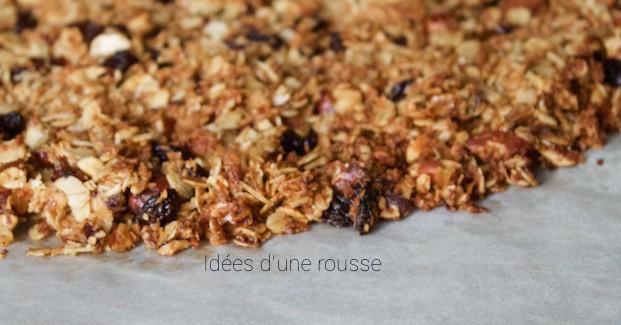 Snack healthy pour l'été : ma recette de granola maison