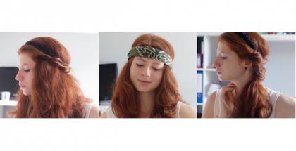 Coiffures avec un headband