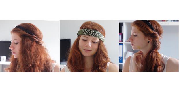 3 idées de coiffures avec un headband