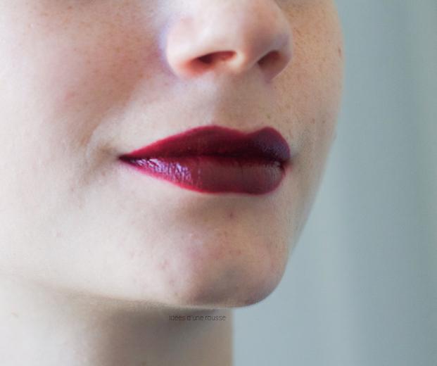 Rouge à lèvres bordeaux Mac Hang Up